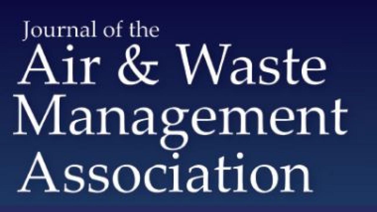 Journal of Air & Waste Management Association